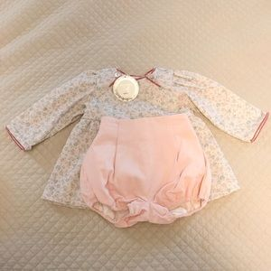 Dondolo Baby Girl 18 months Florence Set NWT